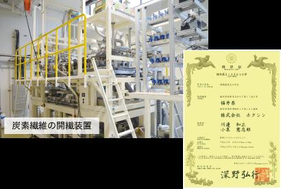 開繊装置・特許